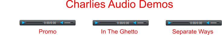 Charlies Audio Demos Promo In The Ghetto Separate Ways